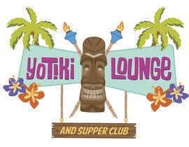 #76 untuk Design a Logo for a Tiki Bar / Restaurant - Artists with 50's flair wanted! oleh crvdesign