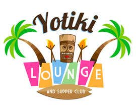 Elars tarafından Design a Logo for a Tiki Bar / Restaurant - Artists with 50's flair wanted! için no 53