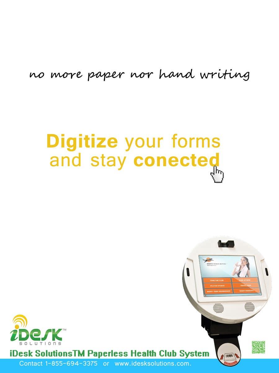 Konkurrenceindlæg #                                        14                                      for                                         Advertisement Design for iDesk Solutions