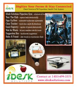 Konkurrenceindlæg #                                        27                                      for                                         Advertisement Design for iDesk Solutions