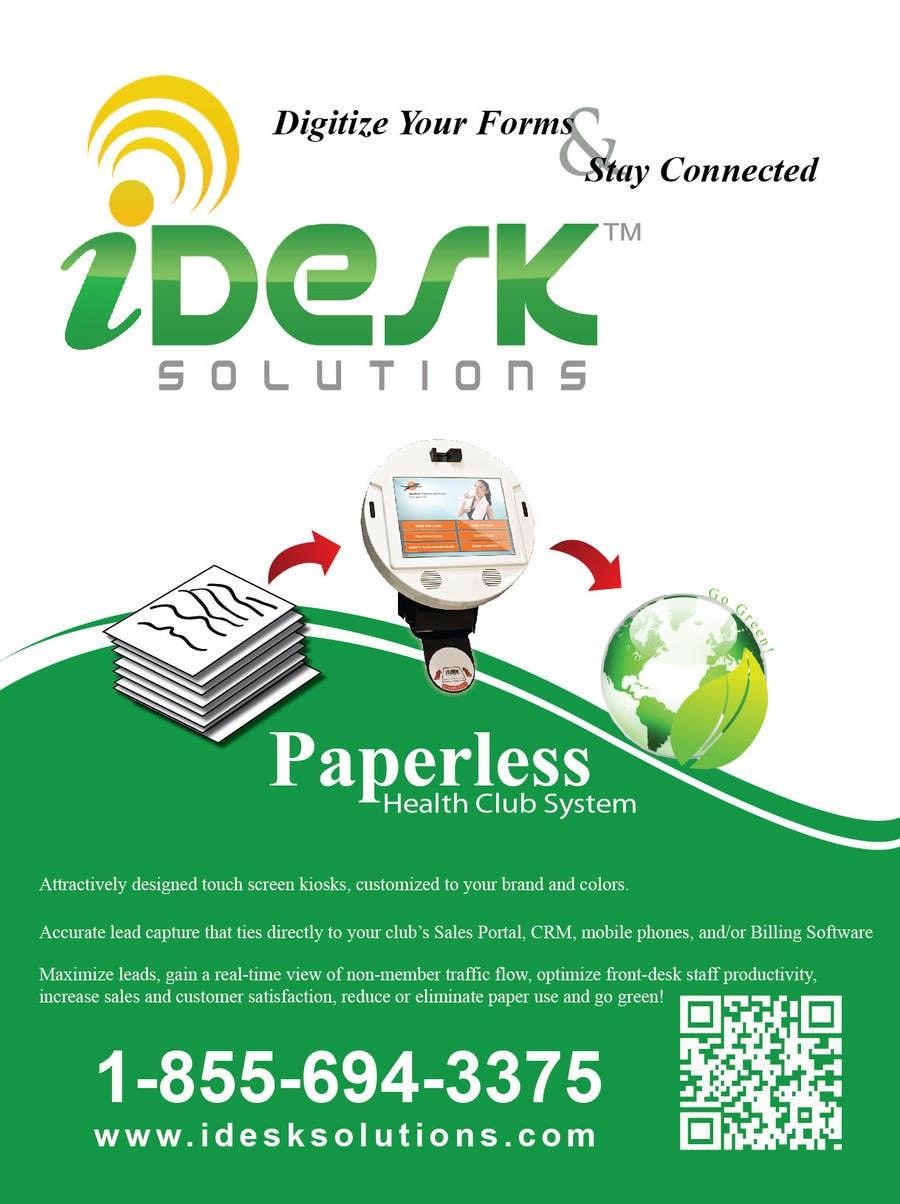 Konkurrenceindlæg #                                        16                                      for                                         Advertisement Design for iDesk Solutions