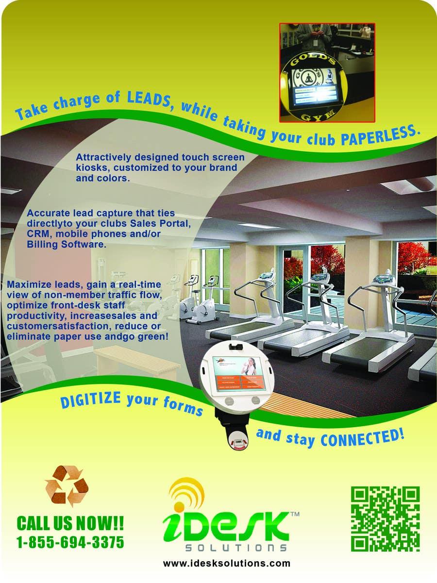 Konkurrenceindlæg #                                        70                                      for                                         Advertisement Design for iDesk Solutions