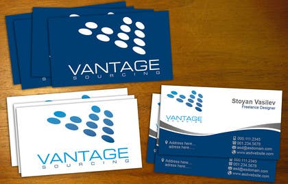 #22 for Business Card with Existing logo by stoyanvasilev98