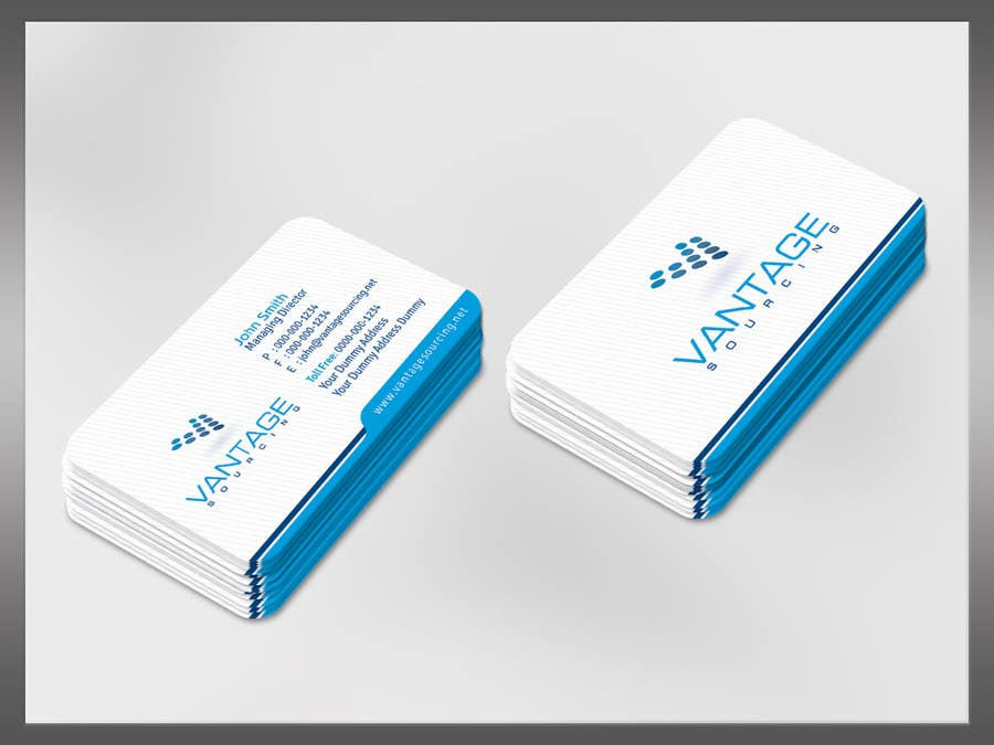 #42 for Business Card with Existing logo by kreativedhir