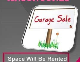 "#6 para Design an Advertisement for Anson Jones ES ""Garage Sale"" por rupaparavimal"