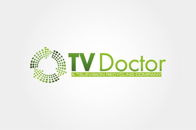 Penyertaan Peraduan #131 untuk Design a Logo for tv doctor recycling