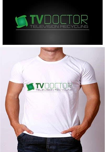 Penyertaan Peraduan #129 untuk Design a Logo for tv doctor recycling