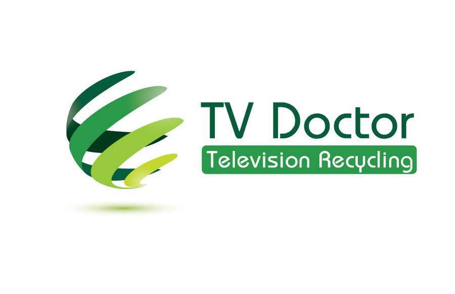 Penyertaan Peraduan #136 untuk Design a Logo for tv doctor recycling