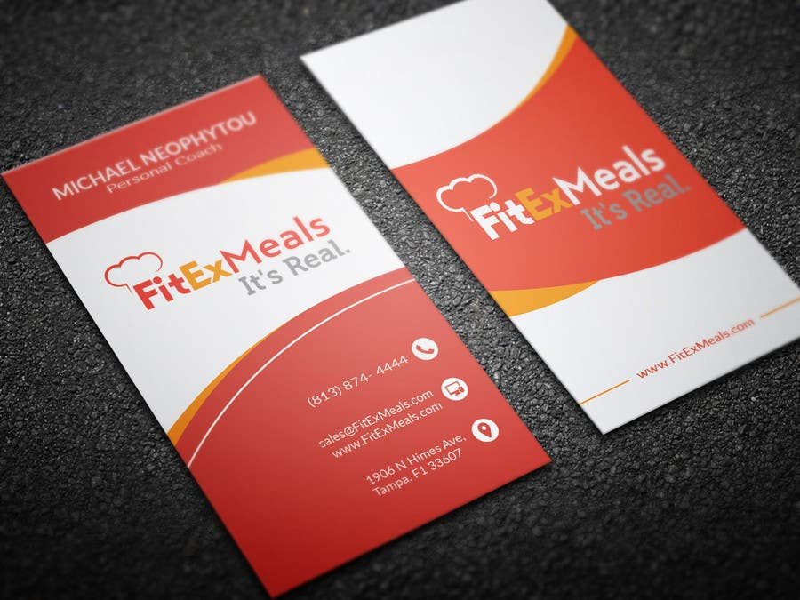 Contest Entry #60 for Design a Business Card for FitEx Meals