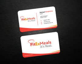 #54 for Design a Business Card for FitEx Meals by Niloyneel