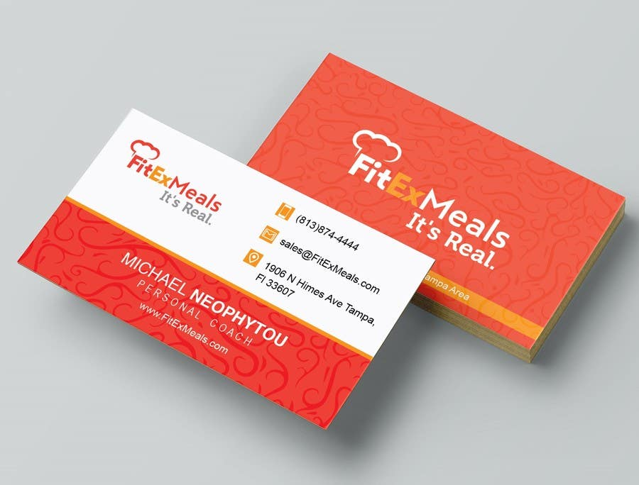 Contest Entry #71 for Design a Business Card for FitEx Meals