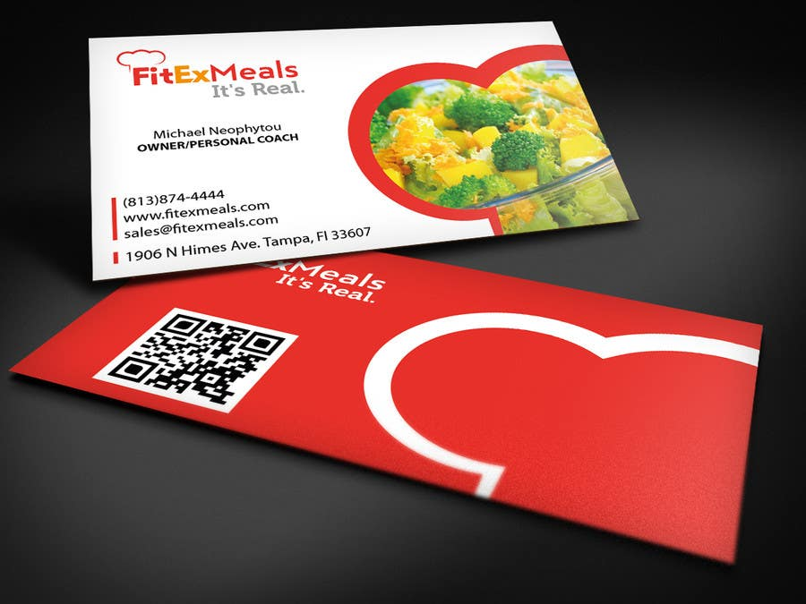 Contest Entry #26 for Design a Business Card for FitEx Meals