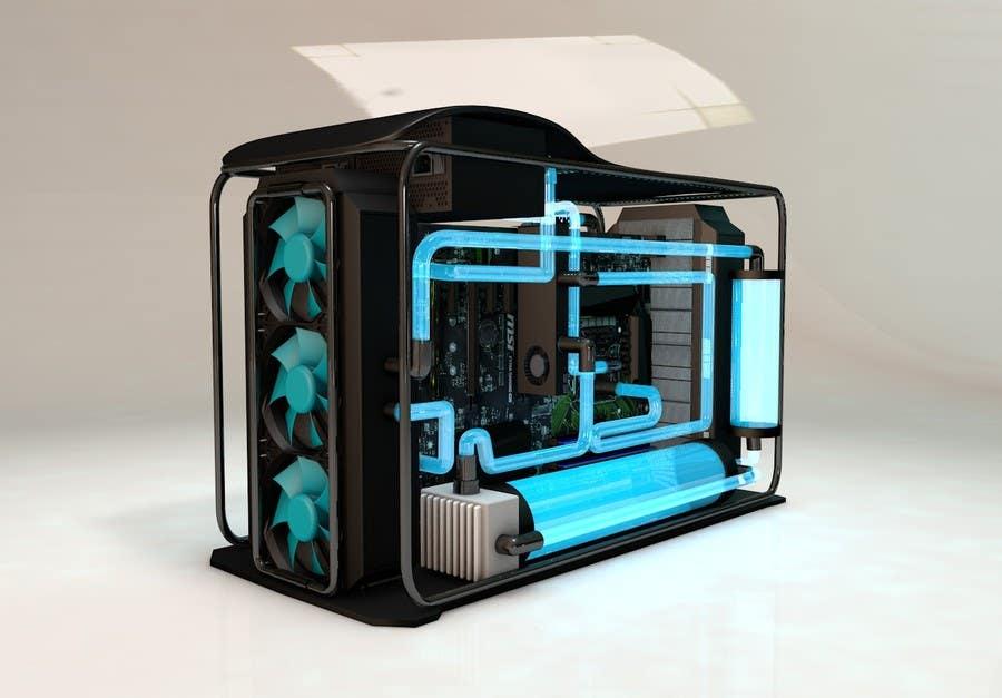 Design Crazy Insane Full Water Cooled Pc Desktop Freelancer