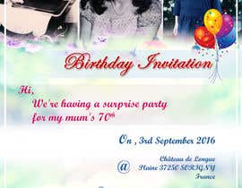 #11 for 70th Birthday invite by Nikhil7niky