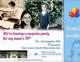 #21 for 70th Birthday invite by Nikhil7niky