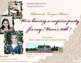 #12 for 70th Birthday invite by GiuliaLampis