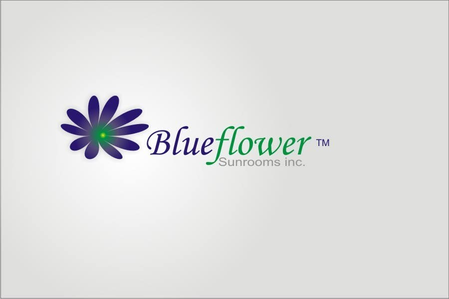 #112 for Logo Design for Blueflower TM Sunrooms Inc.  Windscreen/Sunrooms screen reduces 80% wind on deck by asifjano