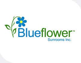 #443 untuk Logo Design for Blueflower TM Sunrooms Inc.  Windscreen/Sunrooms screen reduces 80% wind on deck oleh e2developer