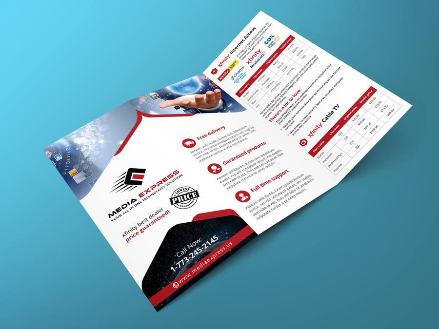 Entry 35 By Furqankhanzada For Design A Business Cards Brochures