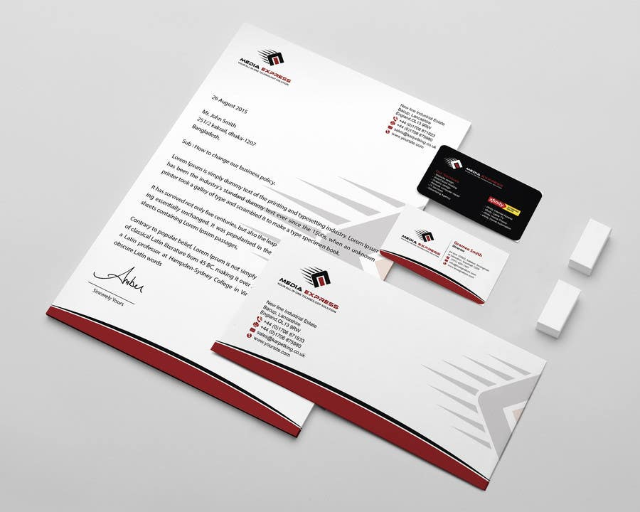 Entry 20 By Mamun313 For Design A Business Cards Brochures Etc
