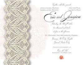 #22 para Wedding invitations por abaraquel