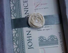 #39 para Wedding invitations por abaraquel