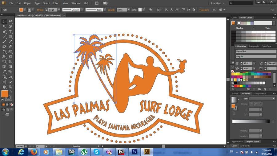 Konkurrenceindlæg #17 for Design a Logo for my Surf Company