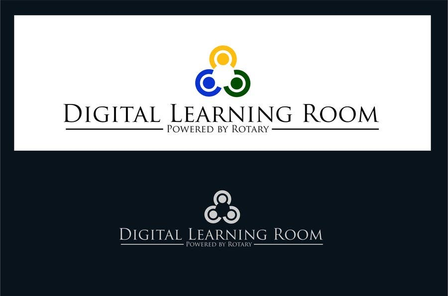 #61 for Design a Logo for a Charity Project -  Digital Learning Room (Powered by Rotary) by uniqmanage