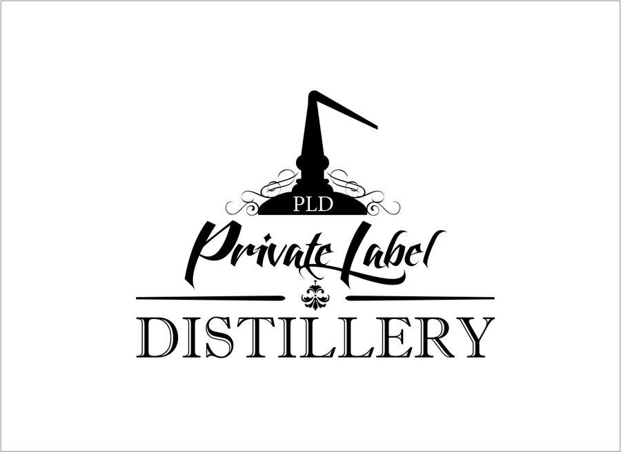 design a logo for private label distillery