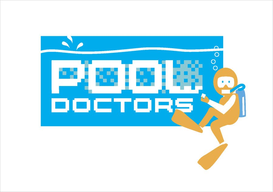 Contest Entry #10 for Design a Logo for an Underwater Swimming Pool Repair Business