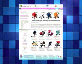 #48 for Design a background image for a stroller comparison site af nextstep789123