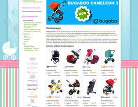 nº 7 pour Design a background image for a stroller comparison site par TemplateDigitale