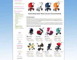 nº 54 pour Design a background image for a stroller comparison site par developingtech