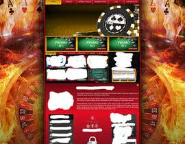 #16 para Background for casino website por Wbprofessional