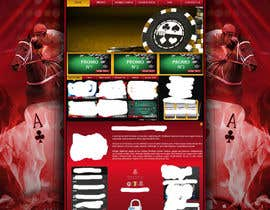 #32 untuk Background for casino website oleh Wbprofessional