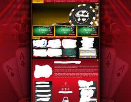 #51 para Background for casino website por Wbprofessional