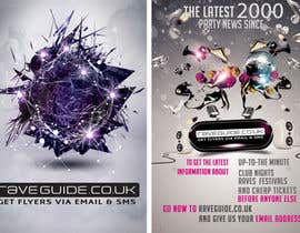 #5 untuk Need a talented artist to design a flyer for a rave / clubbing website oleh MatCorporate