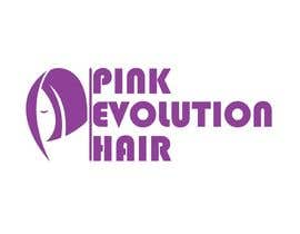 #12 para Design a Logo for PINK EVOLUTION HAIR COMPANY por nemoka