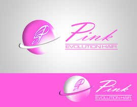 #32 for Design a Logo for PINK EVOLUTION HAIR COMPANY by TiannaRadford