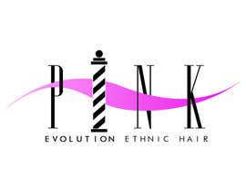 #40 para Design a Logo for PINK EVOLUTION HAIR COMPANY por ipickupallpieces