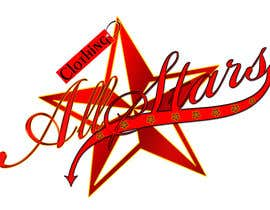 "nº 26 pour Remake this logo in high quality but make it say ""Clothing All Stars"" Not ""All Star"" par HarryRulezz"