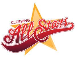 "nº 32 pour Remake this logo in high quality but make it say ""Clothing All Stars"" Not ""All Star"" par natypicasso"