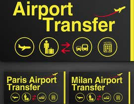 #31 para Logo design for Airport Transfers por annahavana