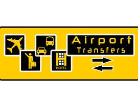 #63 para Logo design for Airport Transfers por netbih