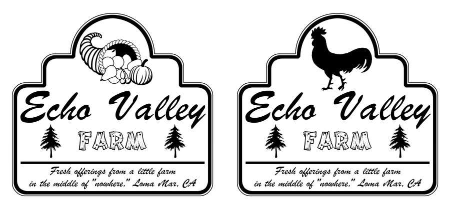 Inscrição nº 542 do Concurso para Logo Design for Echo Valley Farm