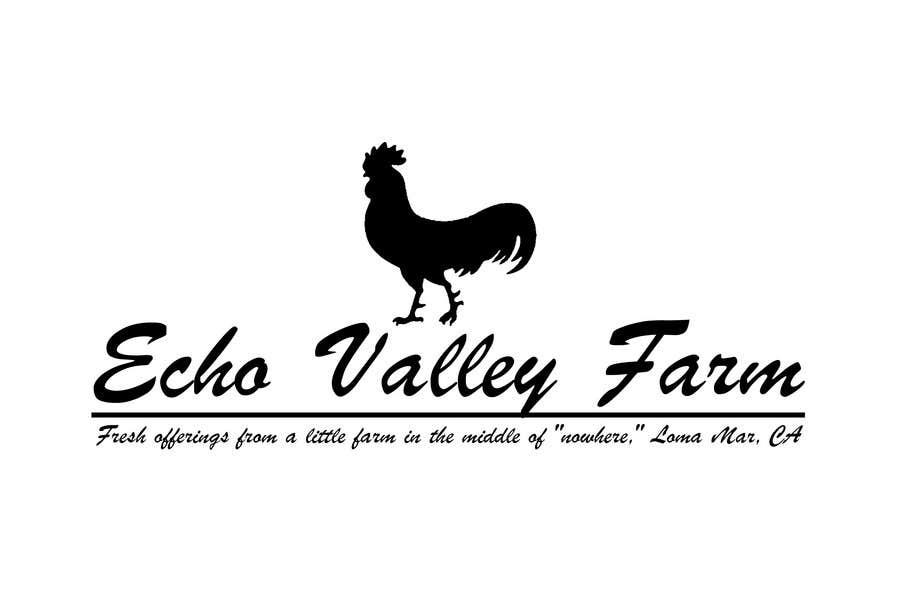 Конкурсная заявка №526 для Logo Design for Echo Valley Farm