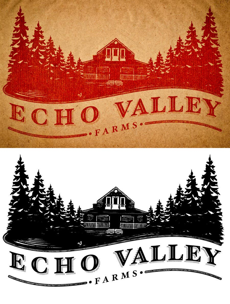 Inscrição nº 500 do Concurso para Logo Design for Echo Valley Farm