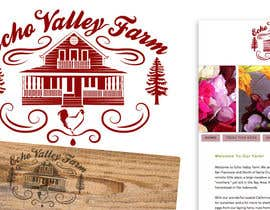 #386 para Logo Design for Echo Valley Farm por benpics