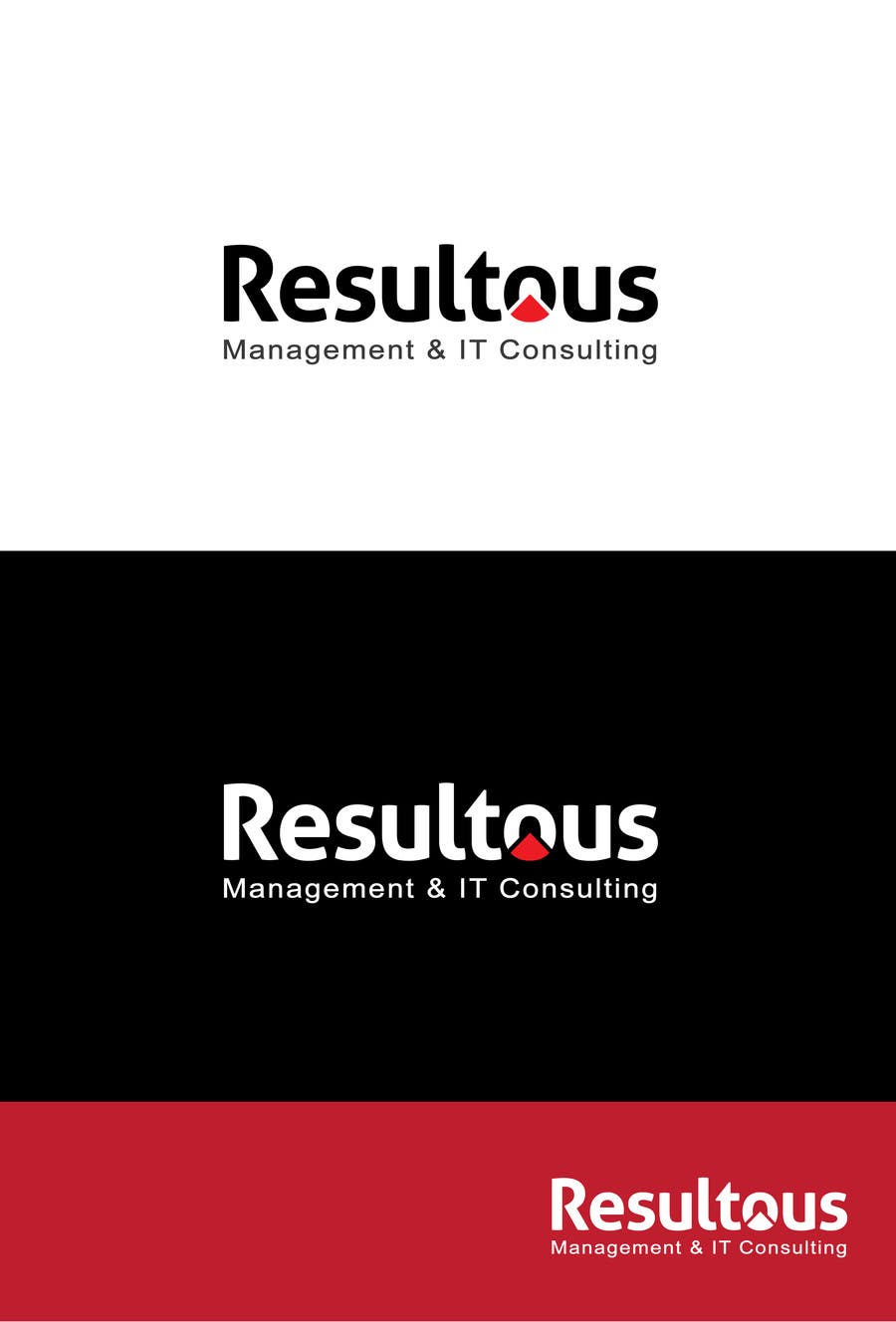 #63 for Design a Logo for Resultous Management & IT Consulting by graphicexpart