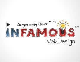 #170 cho Logo Design for infamous web design: Dangerously Clever bởi coreYes